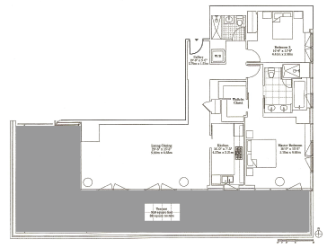 E53 310 D Line 2 Bedroom Apartment With Outdoor Space