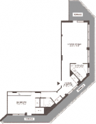 1 Bedroom Apt Floor Plan