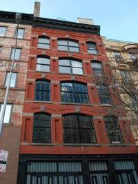 554 Broome Street, NYC SoHo Condo, Building