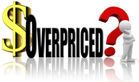 Overpriced Logo