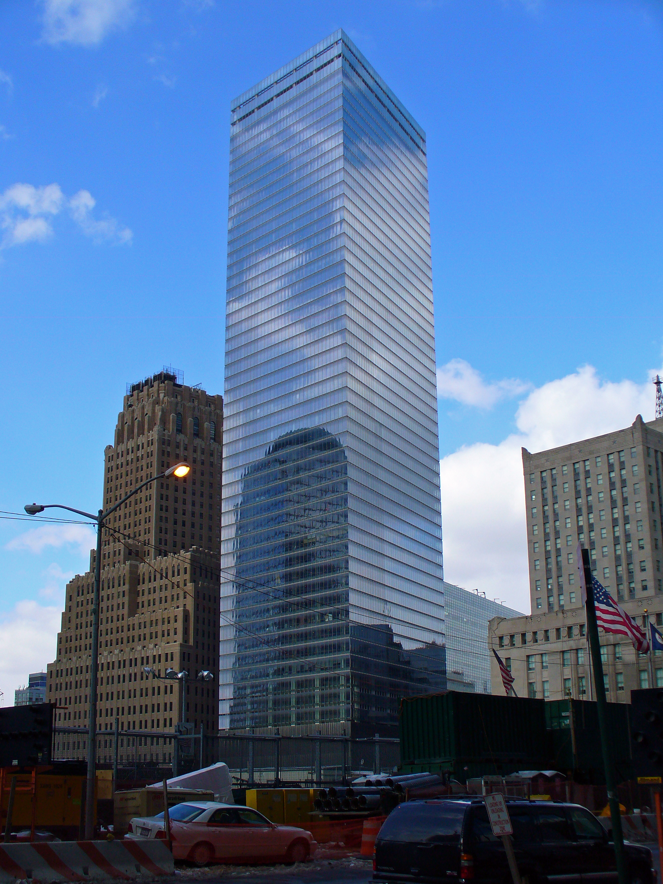7 World Trade Center Nyc Office Building Real Estate