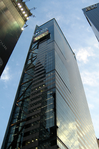 Times Square Tower Nyc Office Building Real Estate Sales