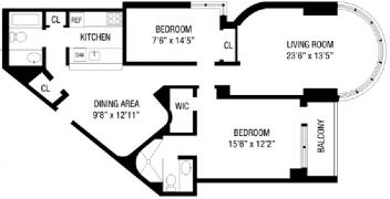 Apartments with Unique Floorplans in New York NYC Manhattan